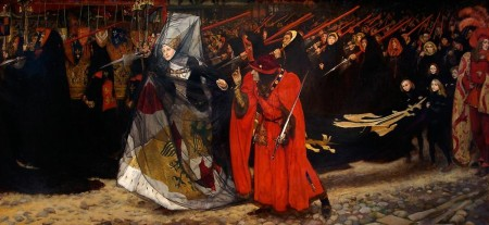 Edwin Austin Abbey_richard_duke_of_gloucester_and_the_lady_anne_1896 - illustrateurs.blogspot.com
